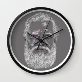 Hipster Bowie Wall Clock