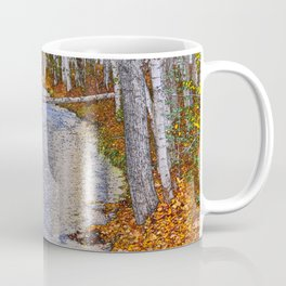 Autumn Stream - Watercolor Coffee Mug