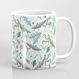 praying mantis in the garden Coffee Mug