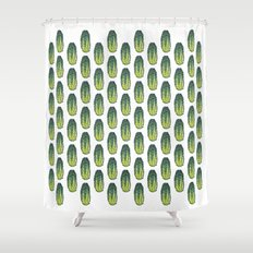Cucumber (Concombre) Shower Curtain
