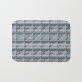 Modern Simple Geometric Pattern 3.6 Bath Mat