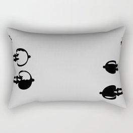 Violin Background Rectangular Pillow