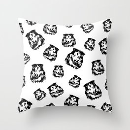 Extraordinary Gifts for the Shetland Sheepdog owner from MONOFACES Throw Pillow
