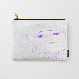 purple sadness2 Carry-All Pouch