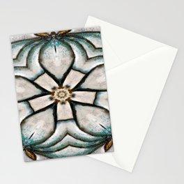Lotus Bud Kalidoscope Art Stationery Cards
