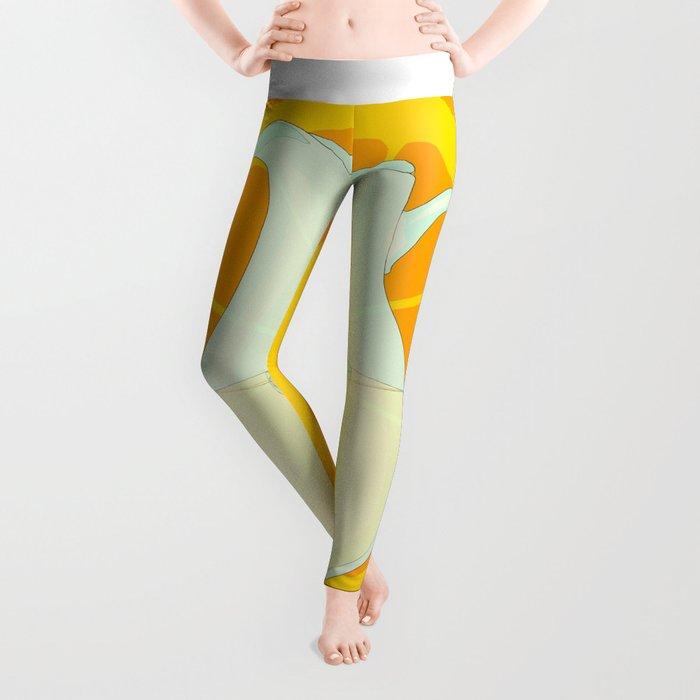Cool Orangeade Leggings