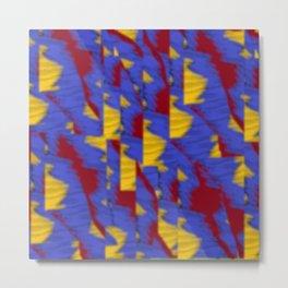 pattern funk colortheme 1 Metal Print