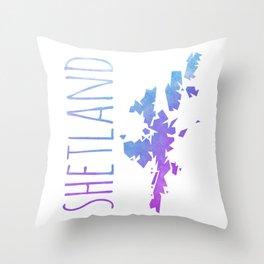 Shetland Throw Pillow