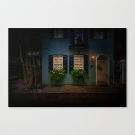 South of Broad - One Way Street Canvas Print
