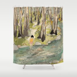 By The Creek Shower Curtain
