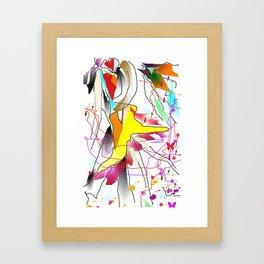 salsa Framed Art Print