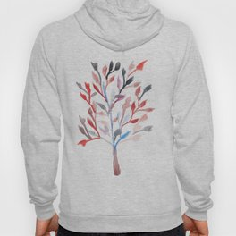 Watercolour Tree 6 |Modern Watercolor Art | Abstract Watercolors Hoody