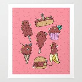 dead food Art Print