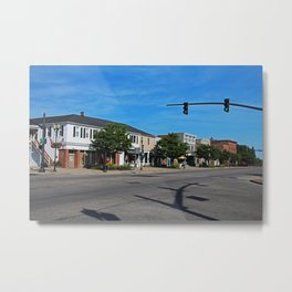 A Street in Perrysburg IV Metal Print
