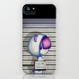 She's in jail... iPhone Case