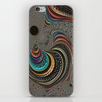psychedelic art iPhone & iPod Skins featuring psychedelic art by ACKelly