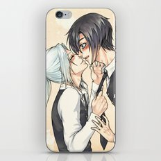 Come on and Kiss me iPhone Skin