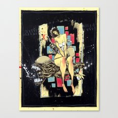 Ripley & The Bad Bitch Canvas Print