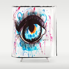 The Eye Of The Beholder Shower Curtain