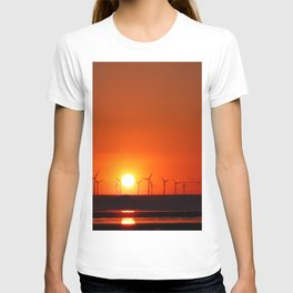 Windmills in the Sun T-shirt