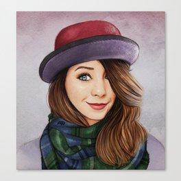 Zoella Style Canvas Print