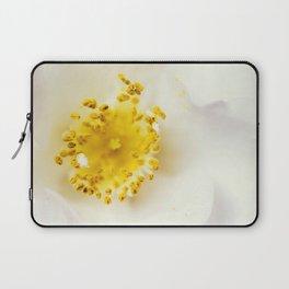 White camellia Laptop Sleeve