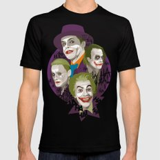The Jokers Black Mens Fitted Tee SMALL