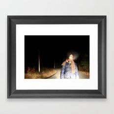 Nightbreathing Framed Art Print