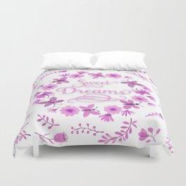 Sweet Dreams - Pink Duvet Cover
