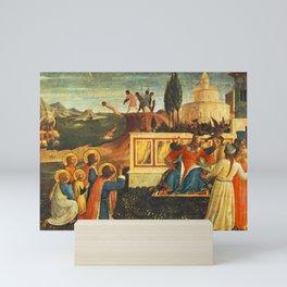 Fra Angelico - Saint Cosmas and Saint Damian Salvaged Mini Art Print