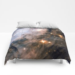 Into the Depths of the Eagle Nebula Comforters