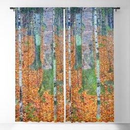 Gustav Klimt Birch Forest Blackout Curtain