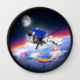 Floater Wall Clock