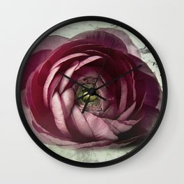 lettre d'amour Wall Clock