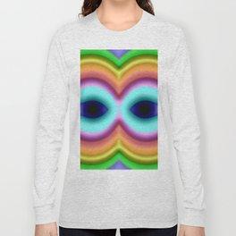 Softly rainbow mask Long Sleeve T-shirt