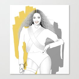 Bey - Formation Canvas Print