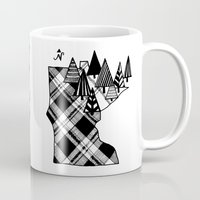 minnesota Mugs featuring Minnesota Love by HazelBlueDesign
