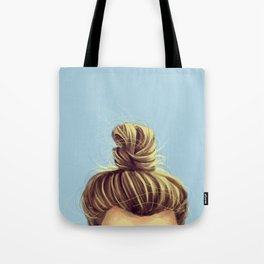 Perfect Man Bun Tote Bag