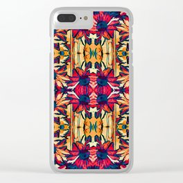 Pattern-116 Clear iPhone Case