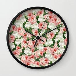 Juliet -  Romantic Roses Wall Clock