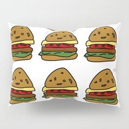 Ham Burger Pillow Sham