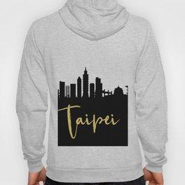 TAIPEI TAIWAN DESIGNER SILHOUETTE SKYLINE ART Hoody