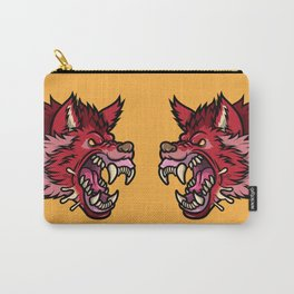 Crimson Wolf Carry-All Pouch