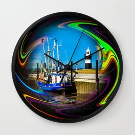 North Sea - Romance 4 Wall Clock