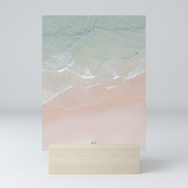 Surf yoga Mini Art Print