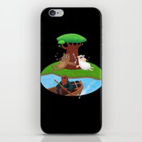 marijuana iPhone & iPod Skins featuring Wolf lamb marijuana by gunberk