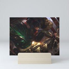 Warring Kingdoms Vi League of Legends Mini Art Print