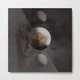 3d abstract art Metal Print