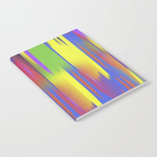 Multi couloured Notebook