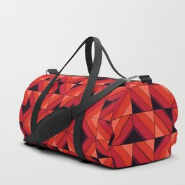Fake wood pattern Duffle Bag